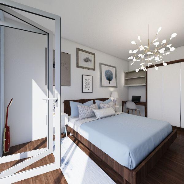 small flat 40m2 Interior Design Render