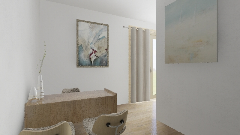 REHAB CENTER Interior Design Render