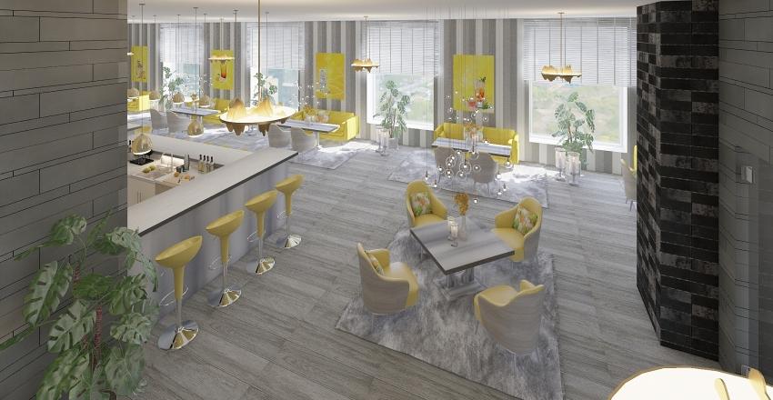 A-Bar  Interior Design Render