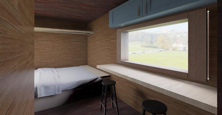 Retro 135 remodel  Interior Design Render