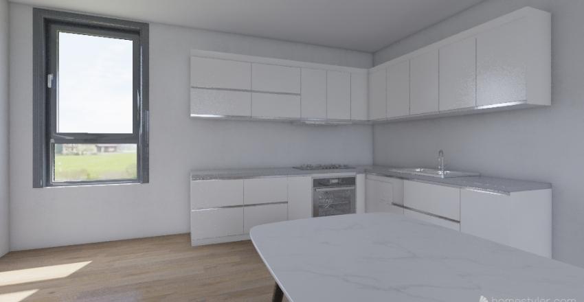 Small Duplex Interior Design Render