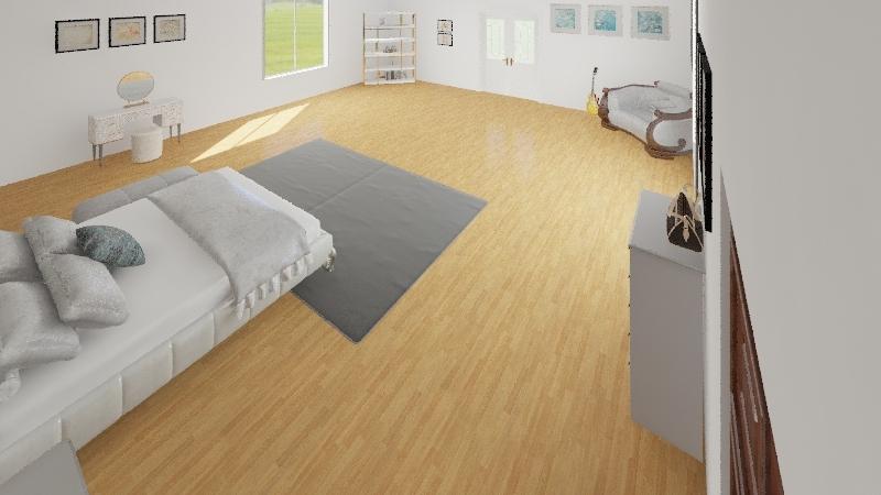 P room Interior Design Render