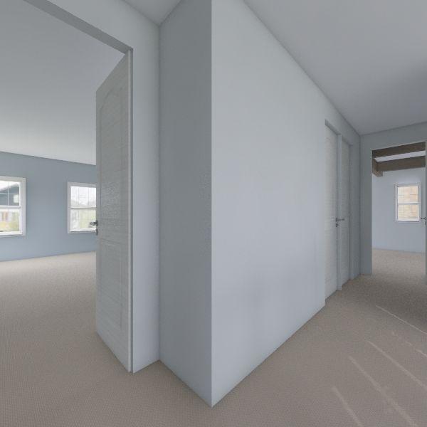 Craftsman 2nd Floor Interior Design Render