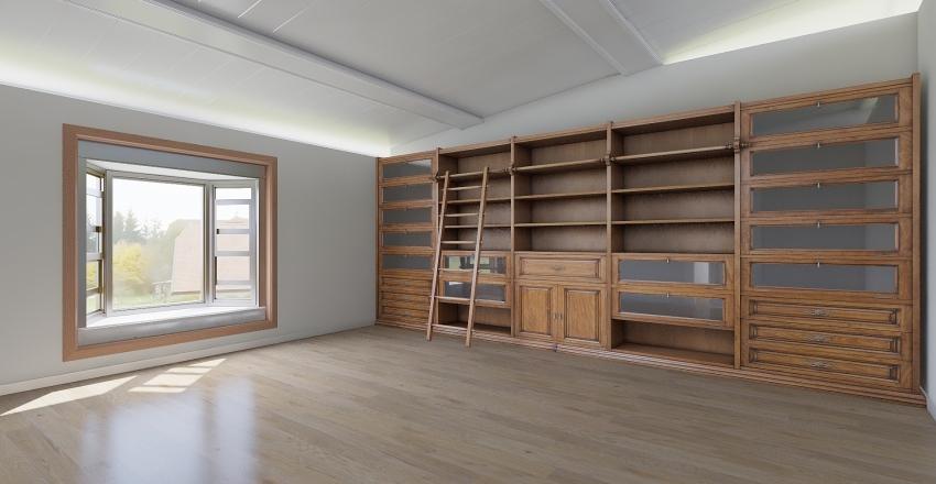 Rachel Office Interior Design Render