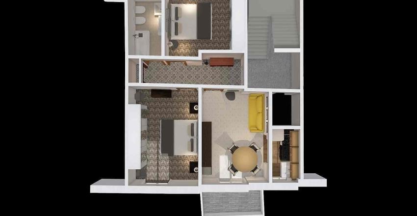 Andora stato attuale Interior Design Render