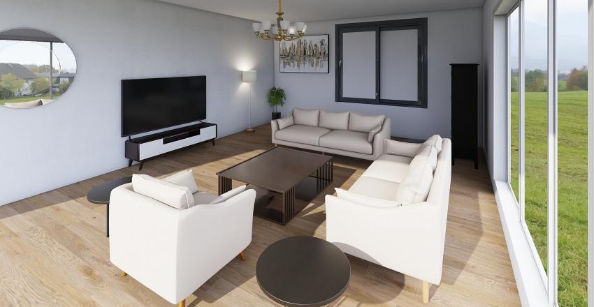 Sala ppal Interior Design Render