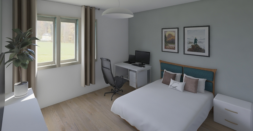 Bedroom v2 Interior Design Render