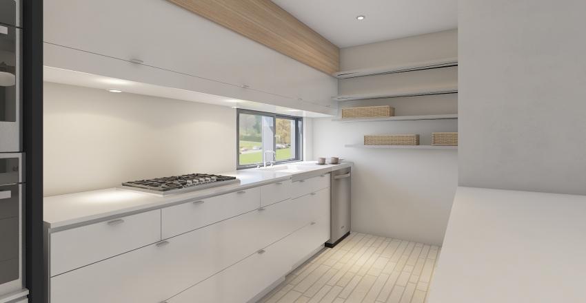Pernille's Kitchen Rev 2 Interior Design Render