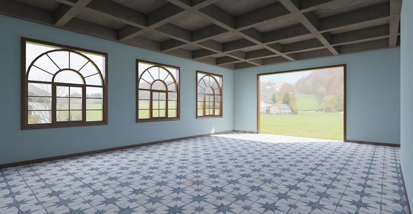 rest Interior Design Render