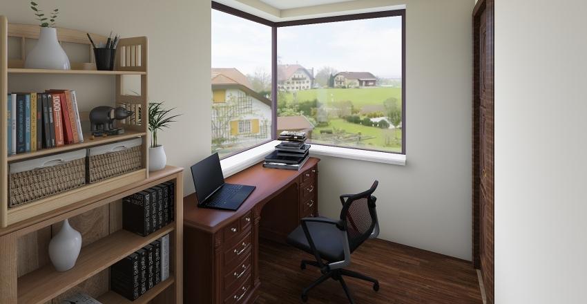 domek2-pietro Interior Design Render