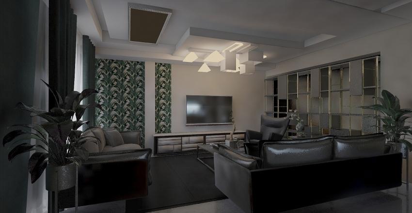 VillaMOHAMMED FOUCHENA Interior Design Render