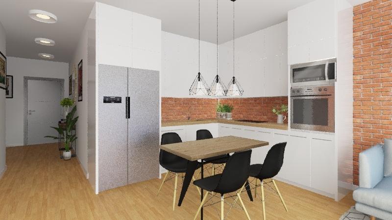 Modern flat v.4 Interior Design Render