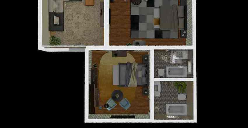 Cool houserrr Interior Design Render