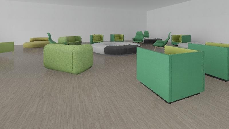 Ifjusagi kozpont Interior Design Render