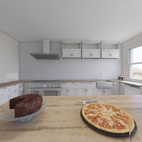 Country House Interior Design Render