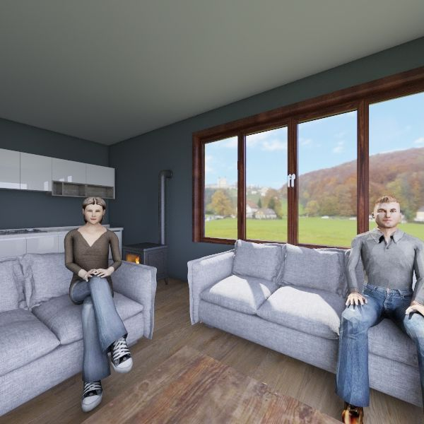 osmaniye ev Interior Design Render