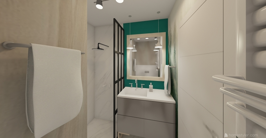 Mieszkanie Interior Design Render