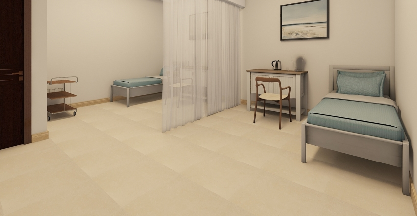 1. AKHIL BHAI HOSP Interior Design Render