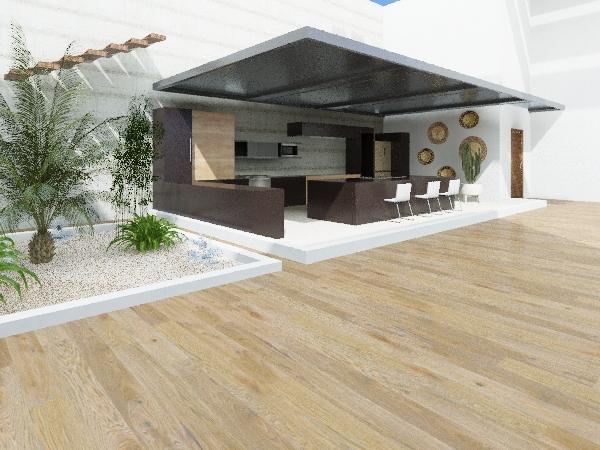 proyecto clau  Interior Design Render