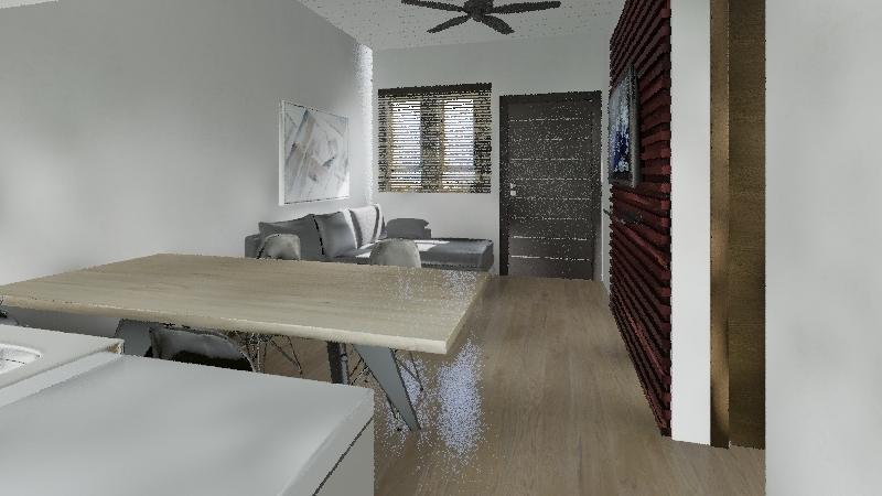 7.5x20 Interior Design Render