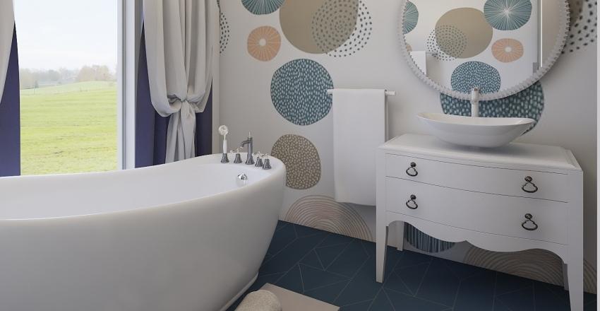 Pastelly Interior Design Render
