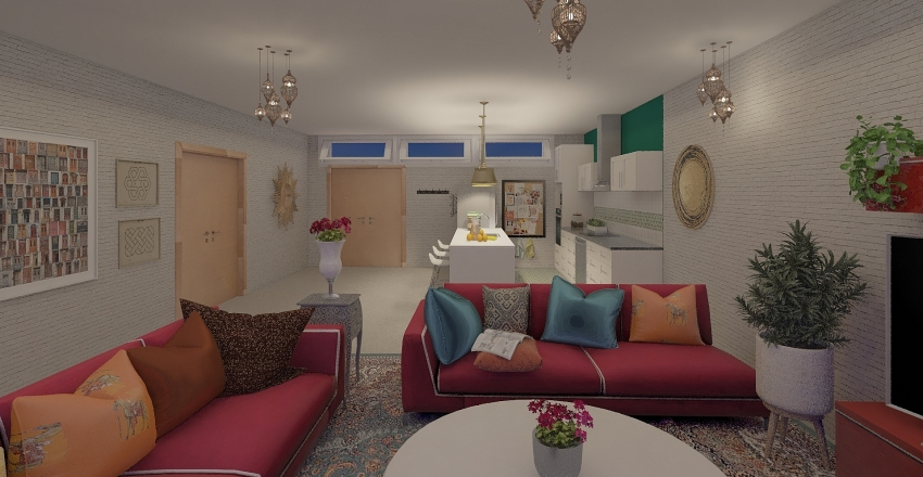 Appartment_02 Interior Design Render