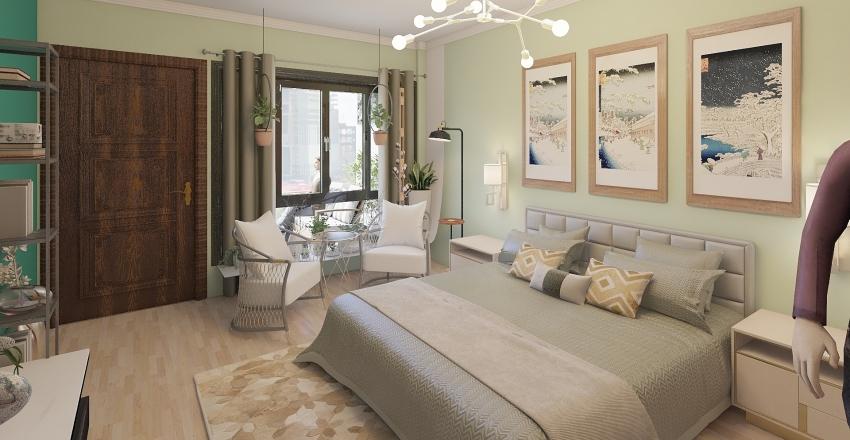 BEDROOM- INTERIOR Interior Design Render