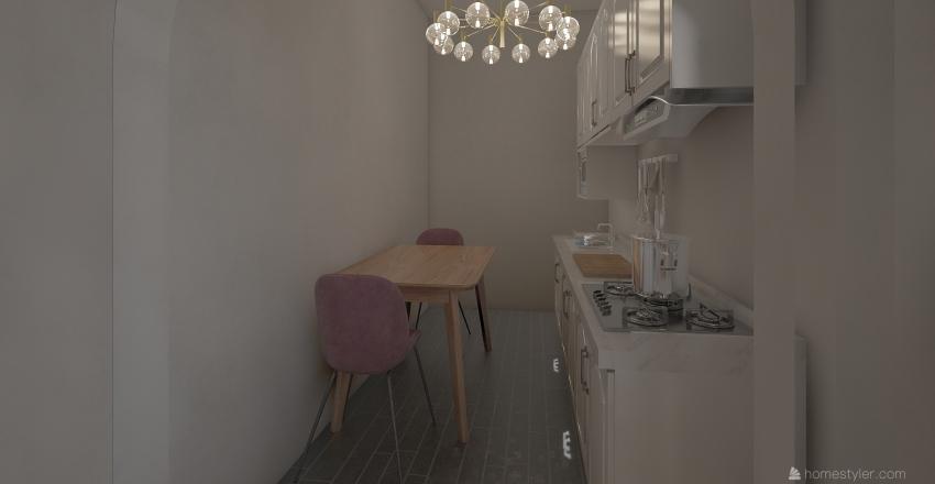 apartment 7 Interior Design Render
