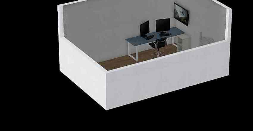 Guest Studio Interior Design Render