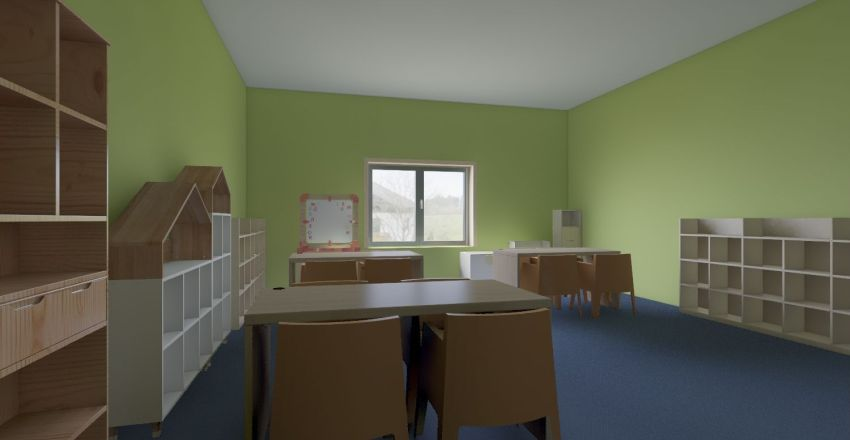 Пятницкое ш. Interior Design Render