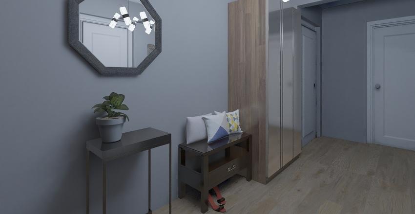 Industrial apartament 2 Interior Design Render