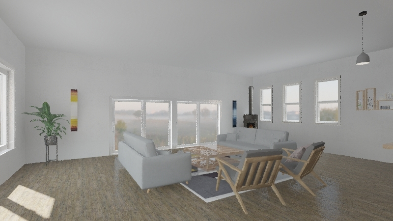 Peters house Interior Design Render