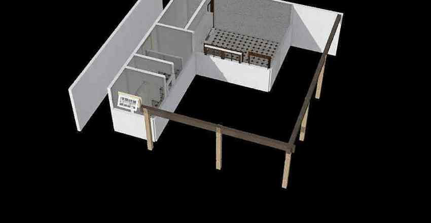 Churrasqueira Interior Design Render