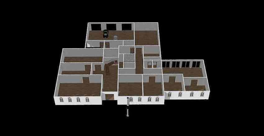 Bishkek House Interior Design Render