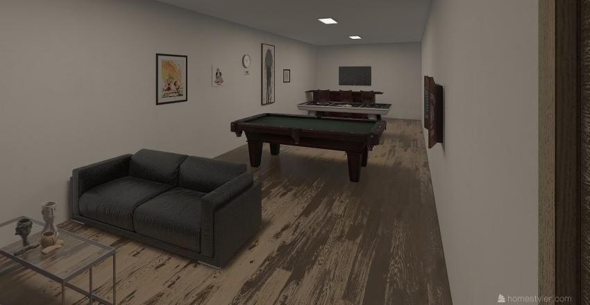 miguel rivas planta baja Interior Design Render