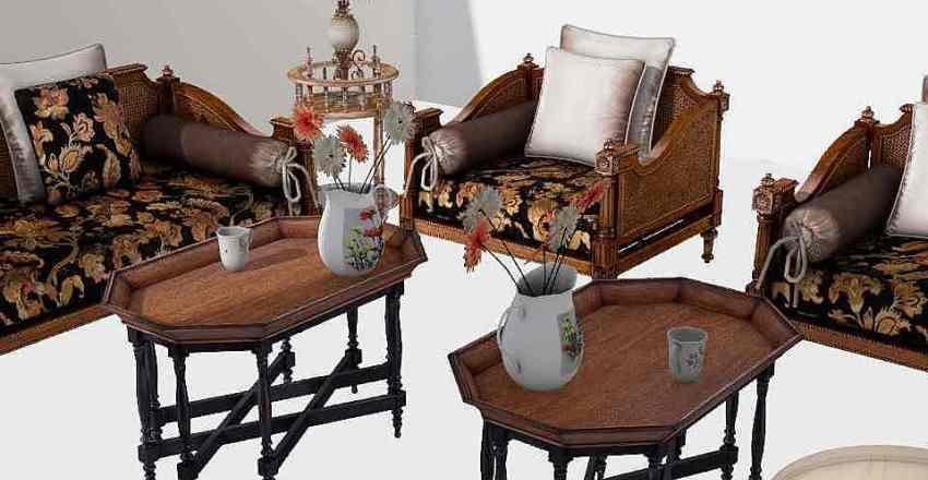 صالة modi Interior Design Render