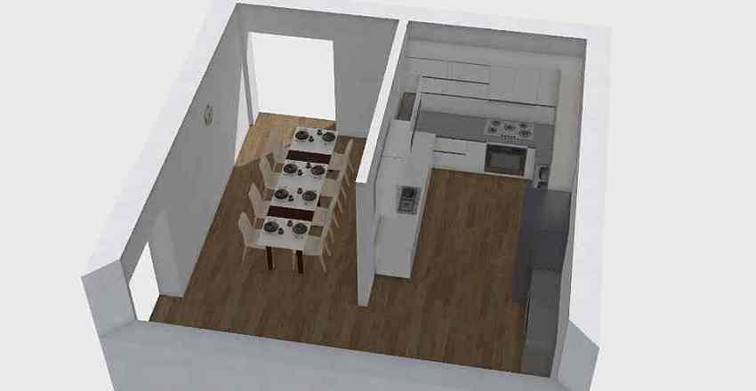 Dining Interior Design Render