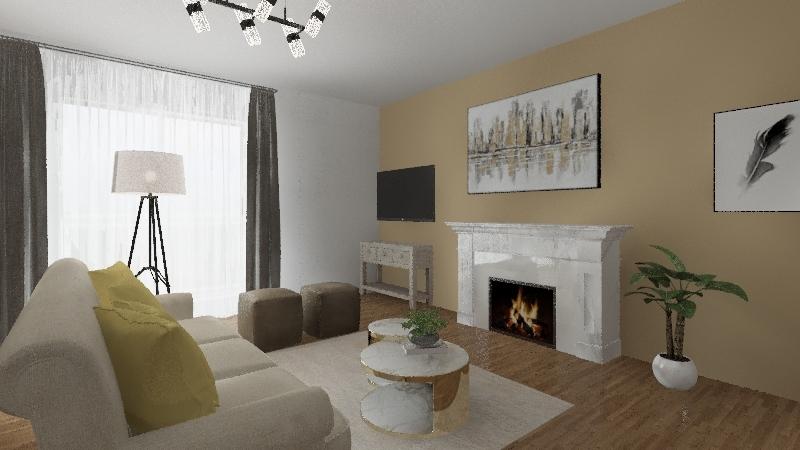 appartamento 4 Interior Design Render