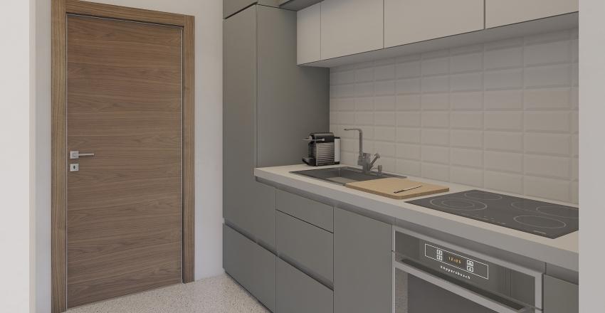 studio for two Interior Design Render