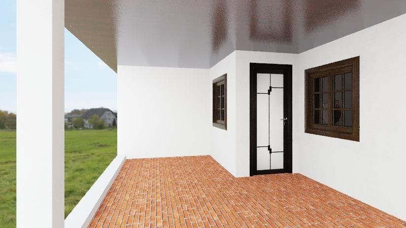 casa 1 = sobreiro- com telhado - versão 2 Interior Design Render