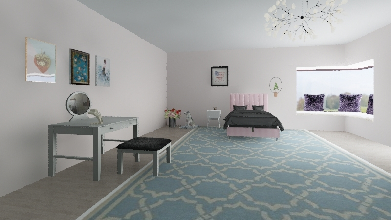 Harper's room Interior Design Render