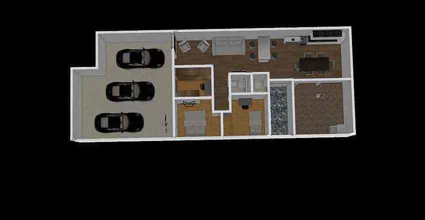 Casa completa closet e cozinha nova Interior Design Render