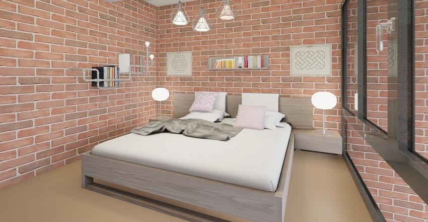 Loft Living_01 Interior Design Render