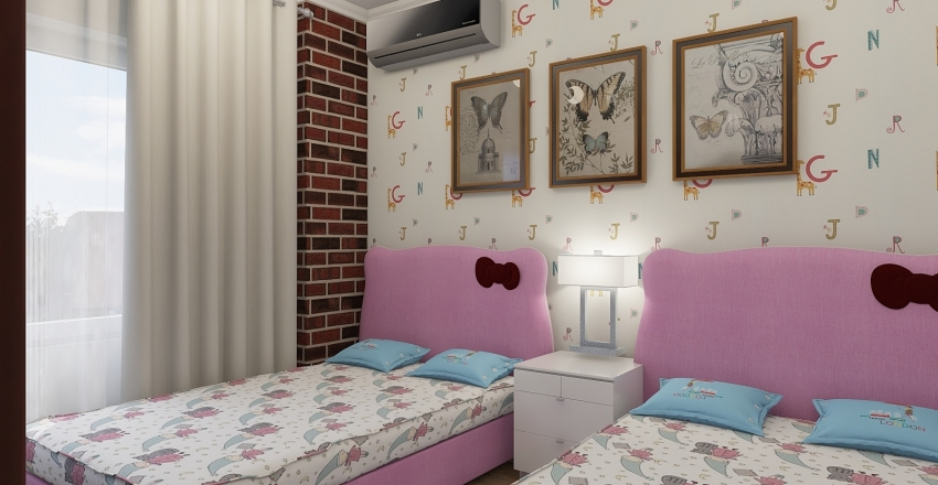 roaa room Interior Design Render