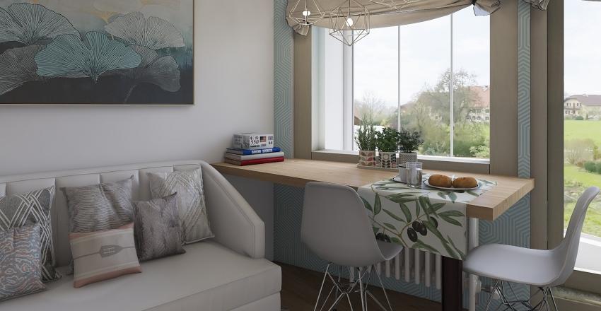 studio appart (жк Ручей)2 Interior Design Render