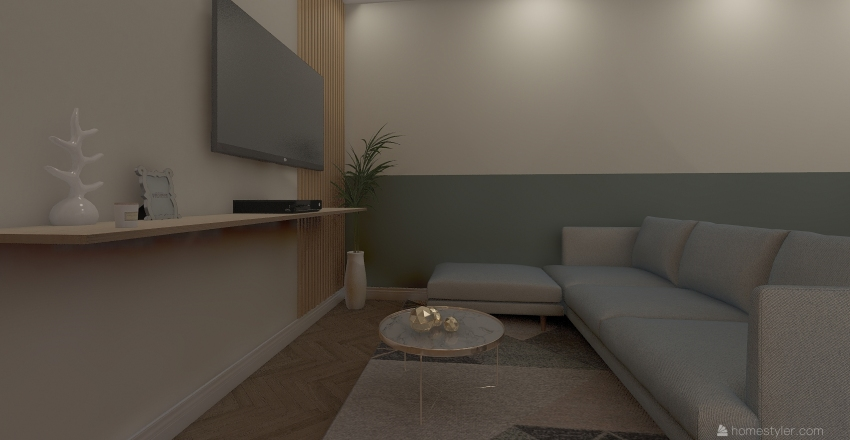 rose Interior Design Render