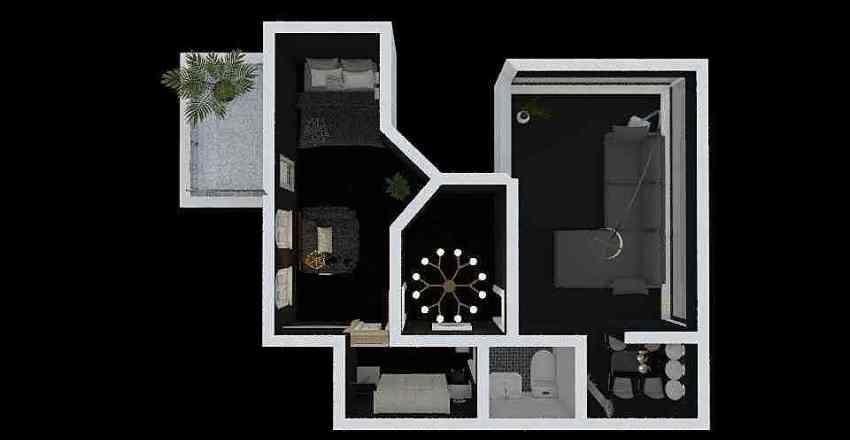 소연22 Interior Design Render