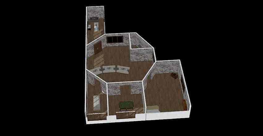 yurt Interior Design Render