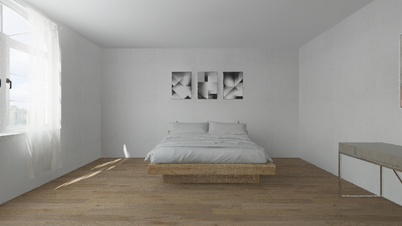 triangle home Interior Design Render