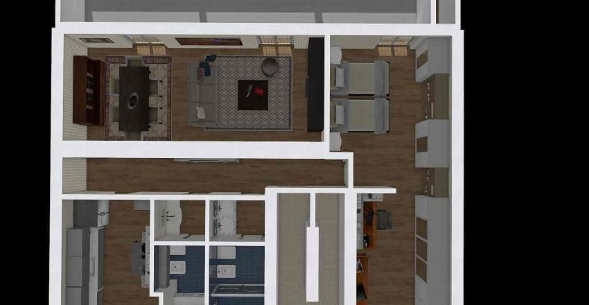 via tresseno 3° progetto D3 Interior Design Render